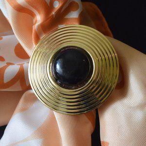 West Germany Dress Scarf Clip Vintage ...